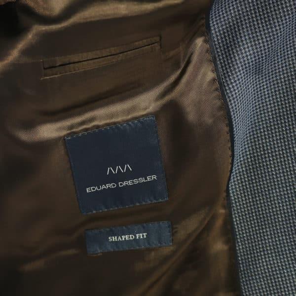 Eduard Dressler blazer jacket navy lining