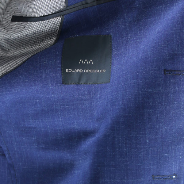Eduard Dressler blue jacket lining detail