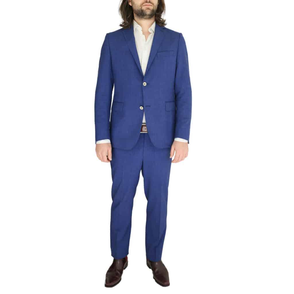 Eduard Dressler blue suit combo