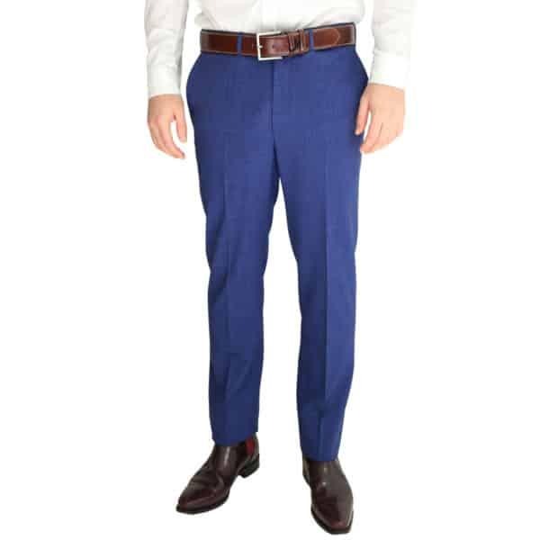 Eduard Dressler blue trouser front