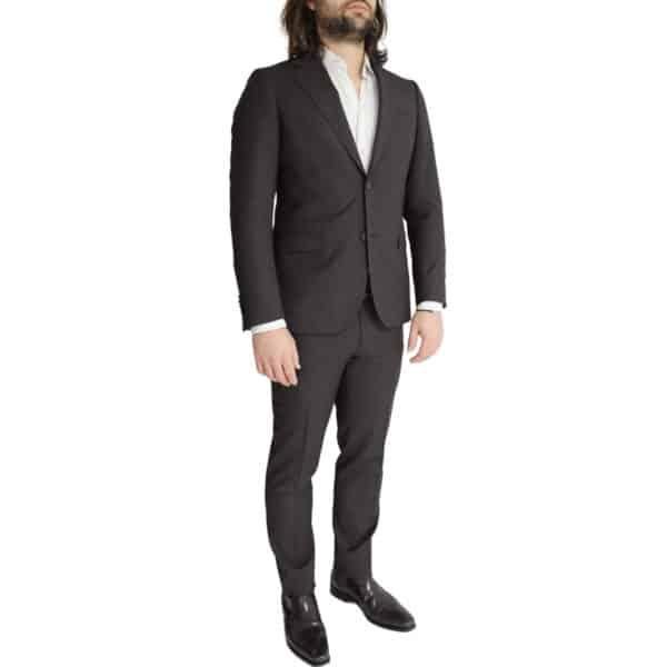 Eduard Dressler charcoal suit side