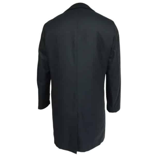 Eduard Dressler navy raincoat back