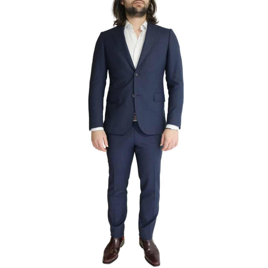 Eduard Dressler navy suit