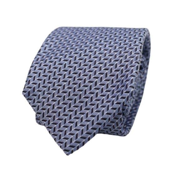 Emporio Armani Diagonal Chevron Tie 1