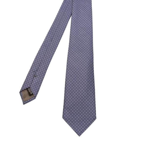 Emporio Armani Tie Light Blue diamonds and dots 2