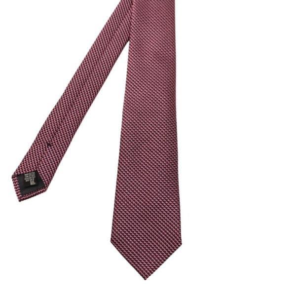 Emporio Armani Tie Triangle Knit Pink 1