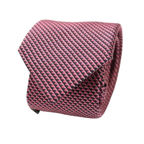 Emporio Armani Tie Triangle Knit Pink 2