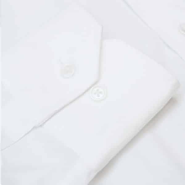 Emporio Armani white shirt cuff
