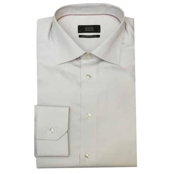 Eton shirt beige signature twill