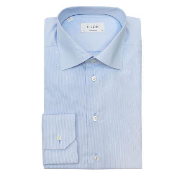 Eton shirt blue stripe brighton1