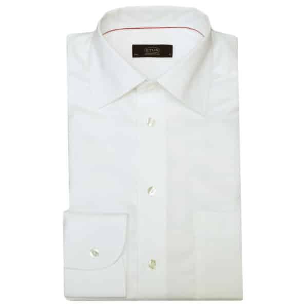 Eton shirt classic white round cuff