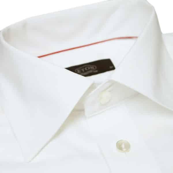 Eton shirt classic white round cuff collar