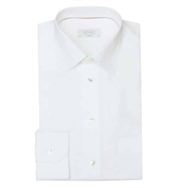 Eton shirt classic white1