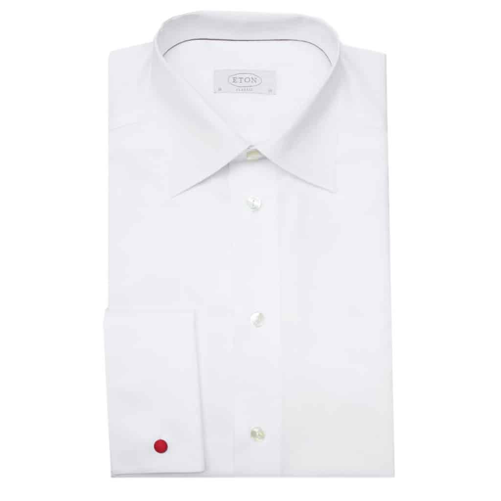 Eton shirt french cuff classic white