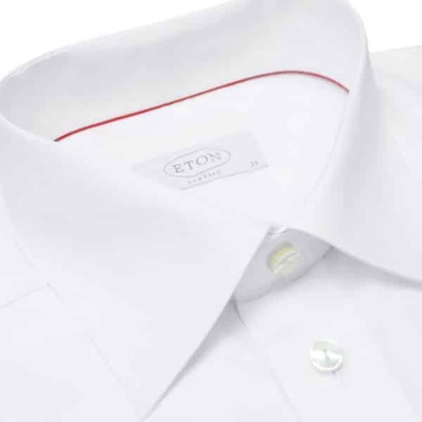 Eton shirt french cuff classic white collar