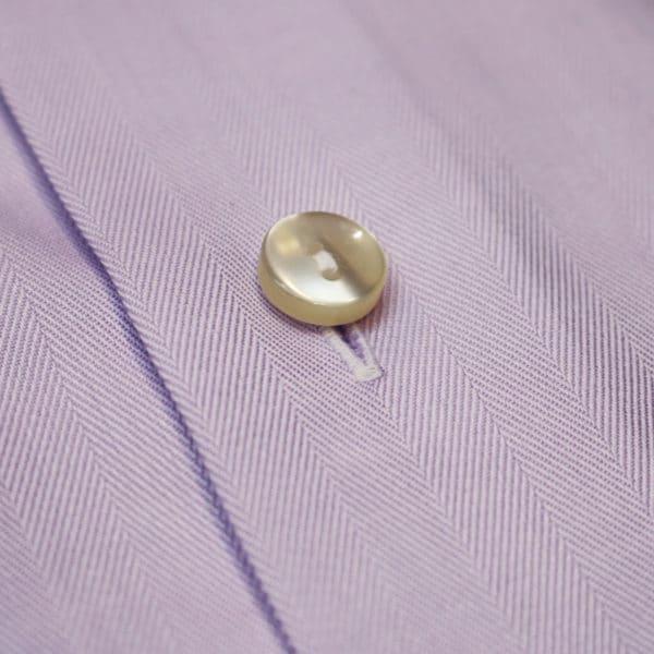 Eton shirt herringbone twill french cuff fabric2