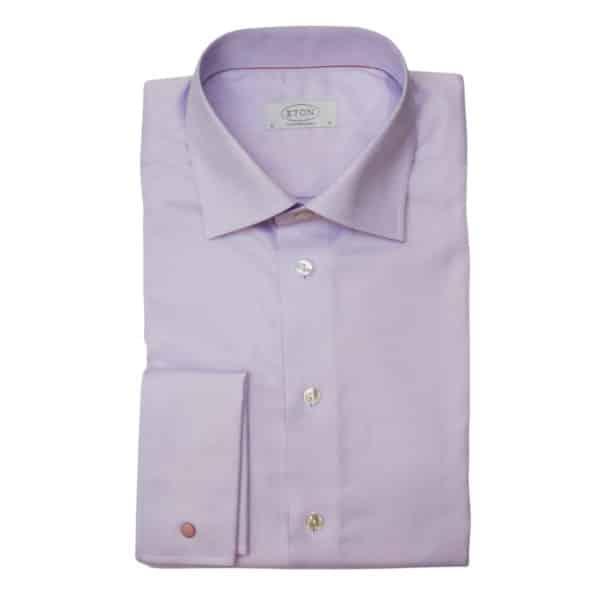 Eton shirt herringbone twill french cuff2