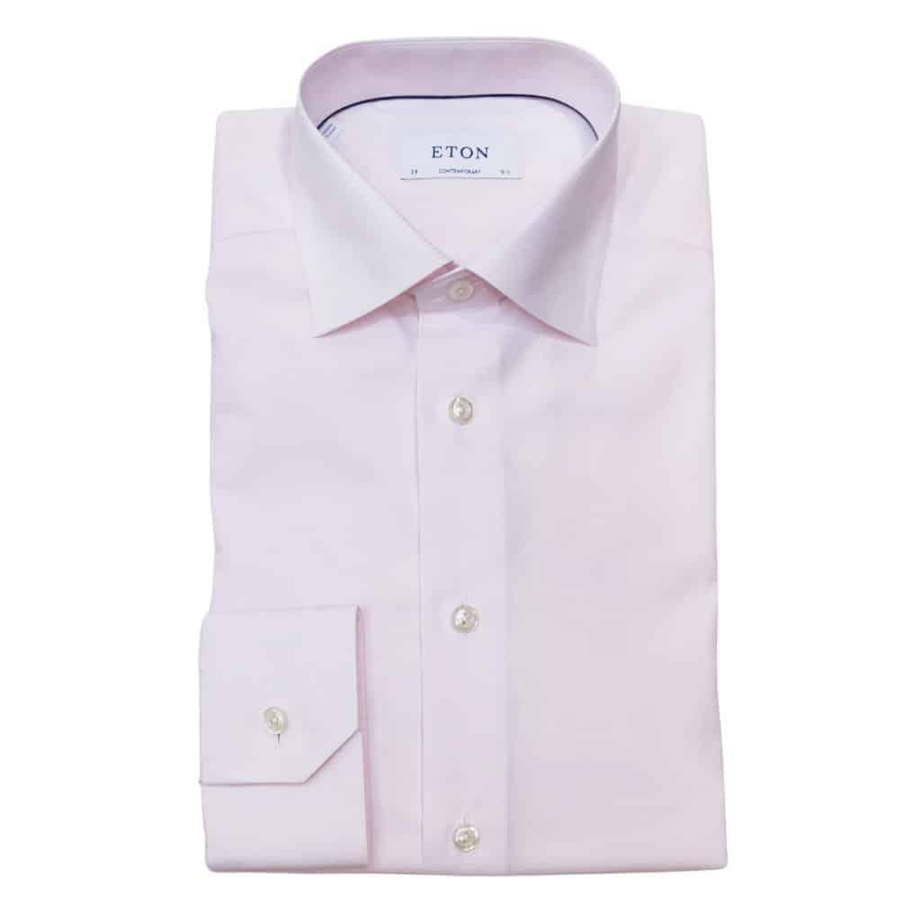 Eton shirt pink textured