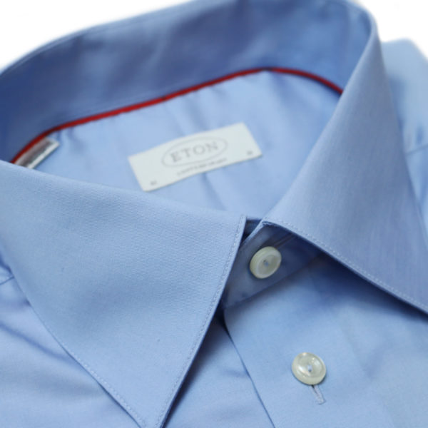 Eton shirt signature twill contemporary fit blue