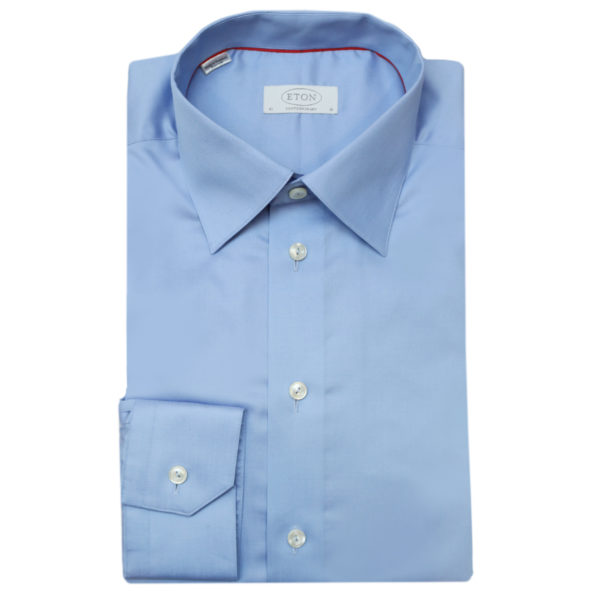 Eton shirt signature twill contemporary fit blue1