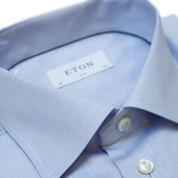 Eton shirt signature twill french cuff collar