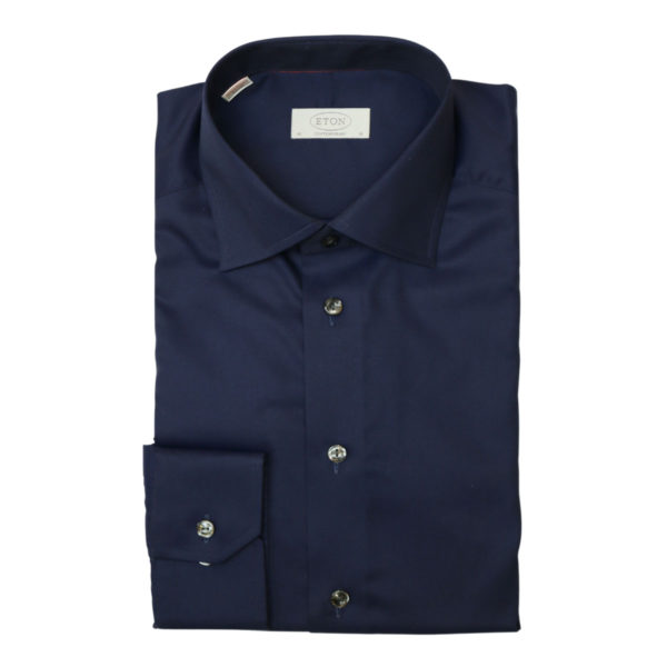 Eton shirt signature twill navy