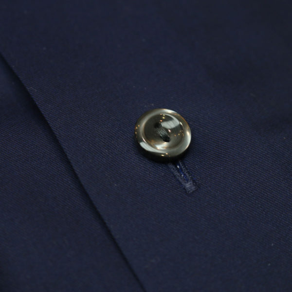Eton shirt signature twill navy fabric