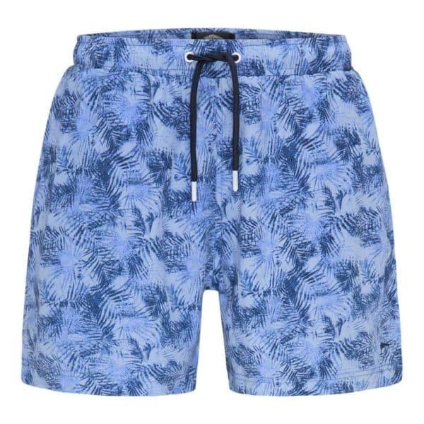 Fynch Hatton Blue Palm Swim Shorts