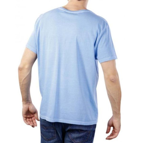 GANT SUNFADED T SHIRT BLUE 1