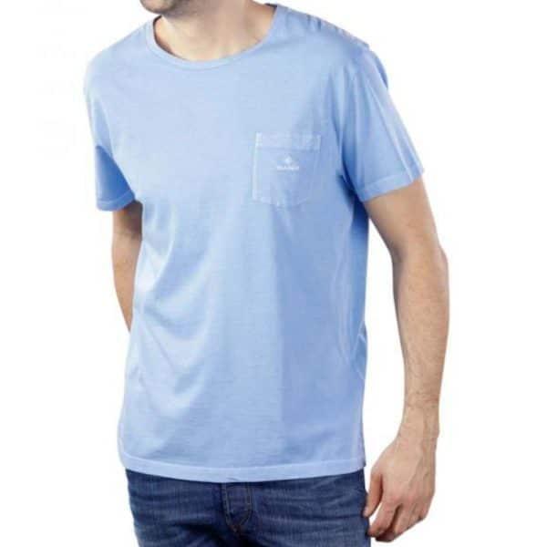 GANT SUNFADED T SHIRT BLUE 3