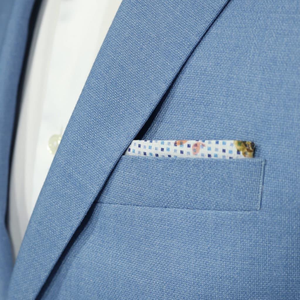 Giordano blue blazer jacket detail