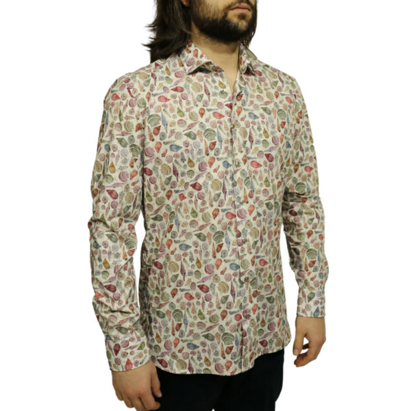 Giordano shirt sea shell off white Copy