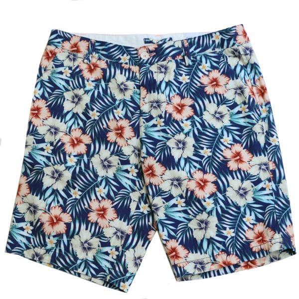 Giordano tropical shorts navy