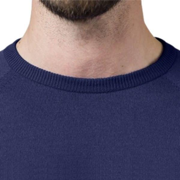 Glenbrae Crewneck Sweater Azure Blue