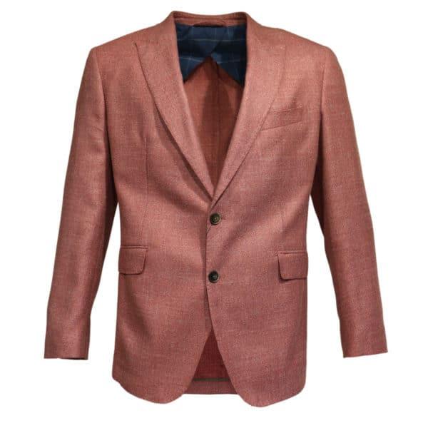 Hacket Blazer jacket coral front
