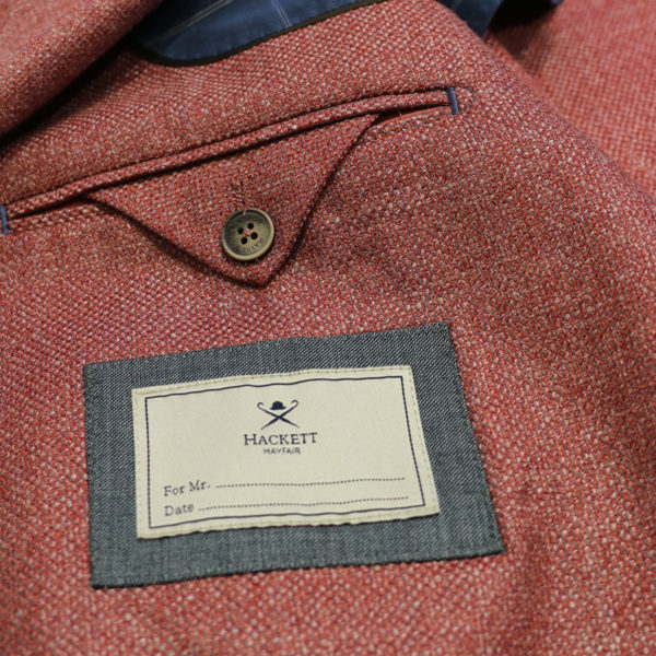Hacket Blazer jacket coral lining