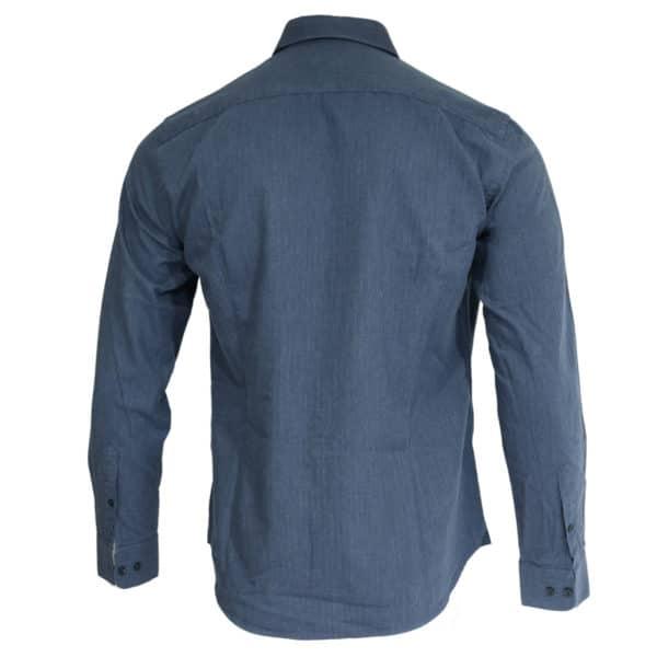 Hacket shirt denim look back