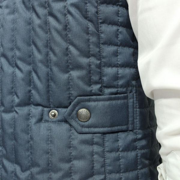 Hacket vest detail