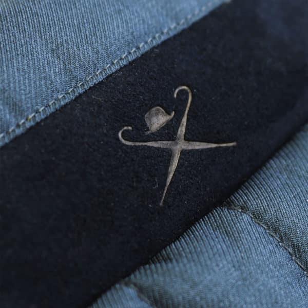 Hacket vest detail logo