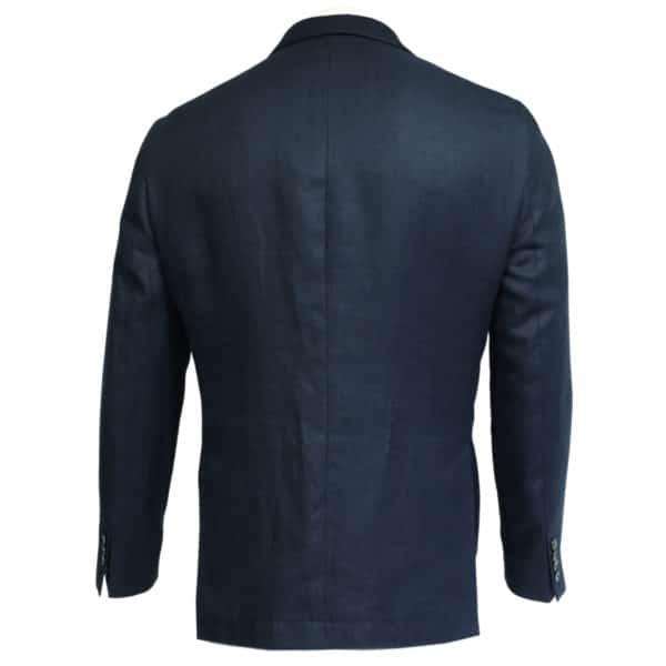 Hackett Blazer jacket denim look button back