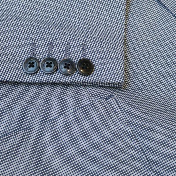 Hackett Blazer jacket houndtooh button detail