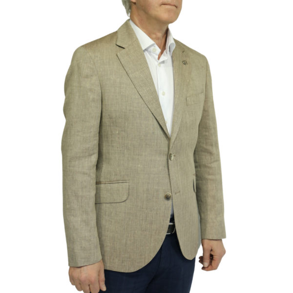 Hackett Blazer jacket sand side