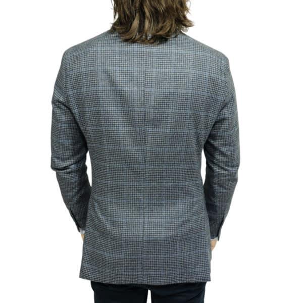 Hackett big check blazer jacket navy 1