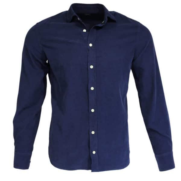 Hackett corduroy shirt navy