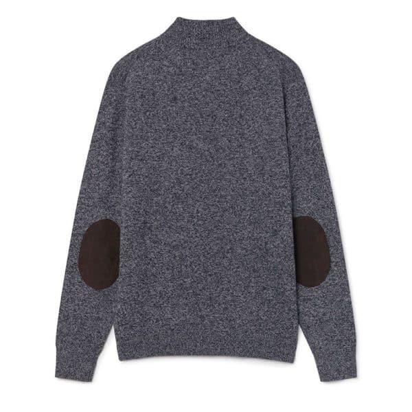 Hackett half zip mouline sweater 2