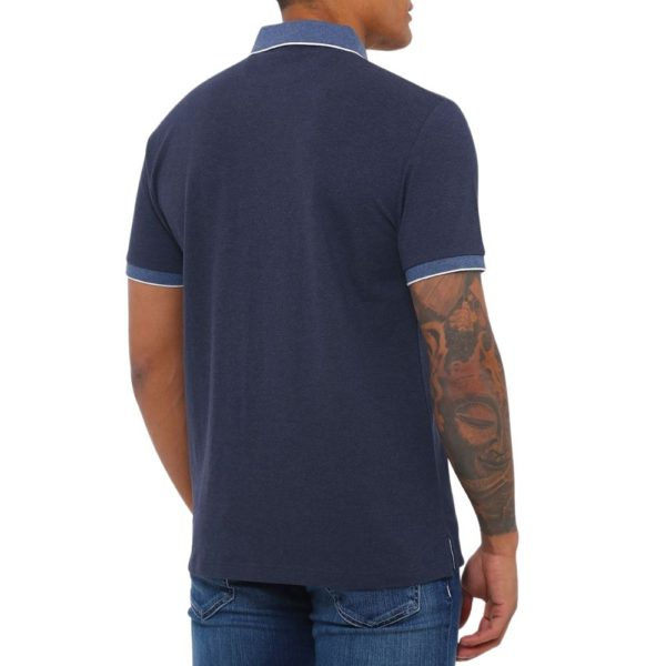 Hackett trim polo blue 1