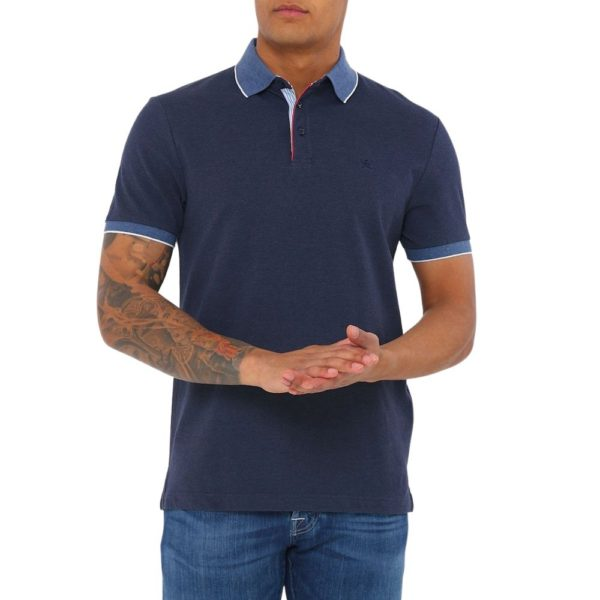 Hackett trim polo blue 2