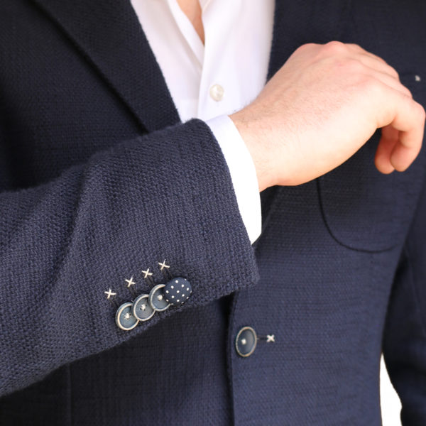 Holland esquire jacket navy buttons