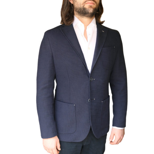Holland esquire jacket navy side