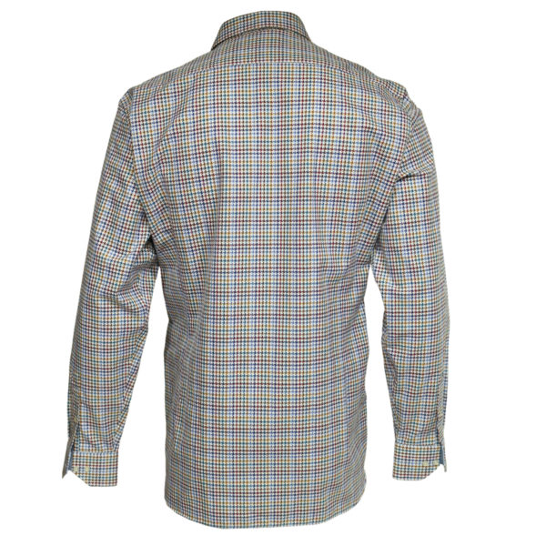 Houdstooth shirt back